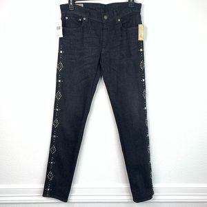 Polo by Ralph Lauren Tompkins Skinny Studded Jeans